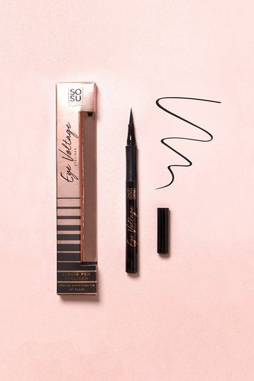 Womens Black SOSU Eye Voltage Eyeliner