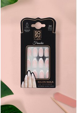 Faux ongles Frenchie SOSU, Blanc, Femme