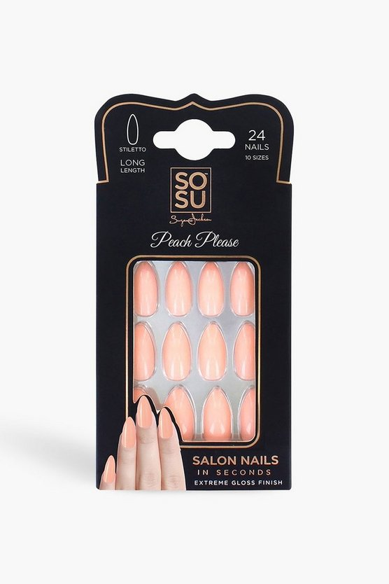 SOSU Peach Please False Nails