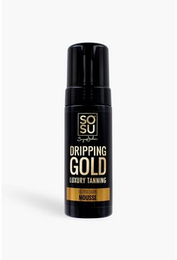 Womens Tan SOSU Dripping Gold Ultra Dark Mousse