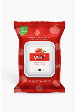 Womens Red Yes To Tomatoes Blemish Facial Wipes 30ct