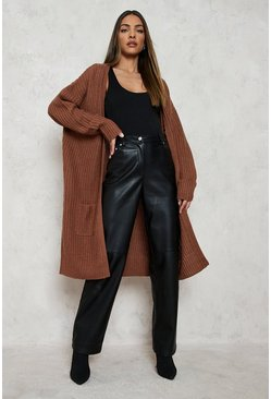 Dam Toffee Fisherman Edge To Edge Boyfriend Cardigan