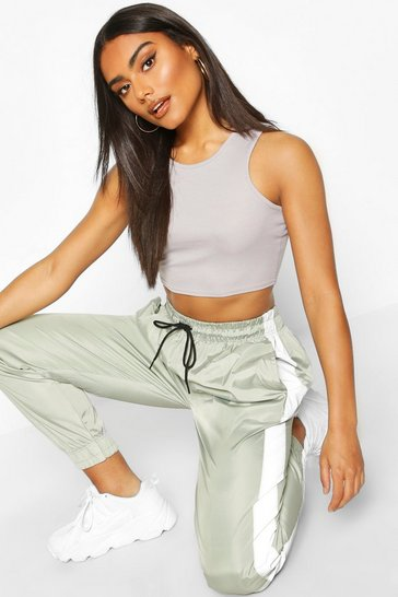 Grey Rib Racer Front Crop