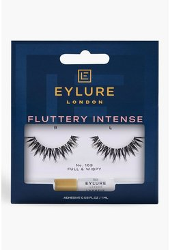 Womens Black Eylure Texture 163 Lashes