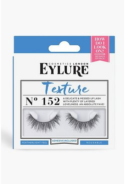 Womens Black Eylure Texture 152 Lashes