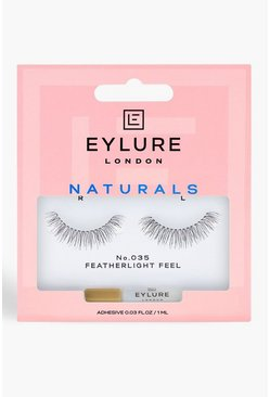 Womens Black Eylure Lengthening Lashes - 035