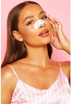 Womens White Boohoo Pore Strips - 6 Pack