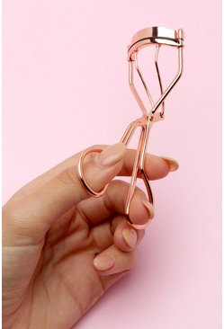 Womens Rose gold Boohoo Eyelash Curler