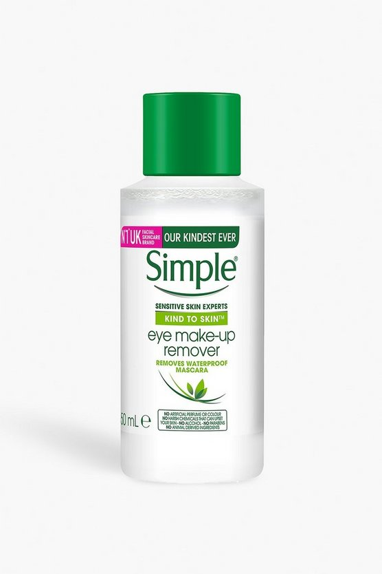 Clear Simple Kind To Eyes Eye Makeup Remover