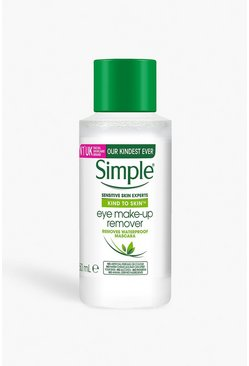 Womens Clear Simple Kind To Eyes Eye Makeup Remover
