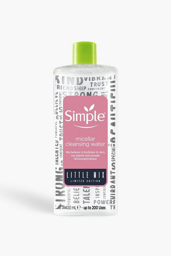 Pink Simple X Little Mix Micellar Water 400ml