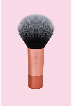 Womens Pink Real Techniques Mini Powder Brush