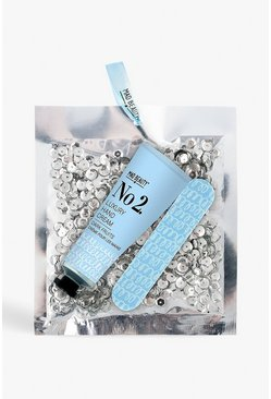 Womens Hand Care With Silver Sequin Bag