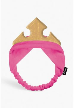 Womens Pink Disney Princess Aurora Headband