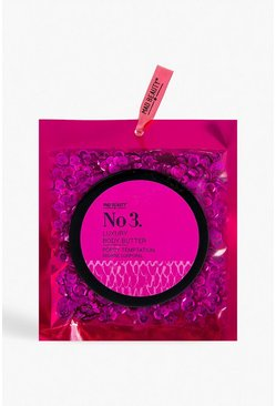 Body Butter With Pink Sequin Bag
