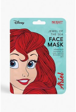 Mascarilla facial Disney Princess - Ariel, Azul