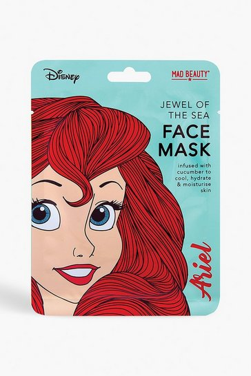Blue Disney Princess Face Mask - Ariel