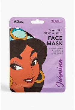 Womens Purple Disney Princess Face Mask - Jasmine