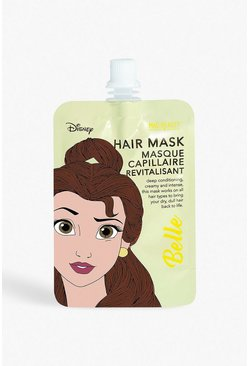 Womens Yellow Disney Princess Hair Mask - Belle
