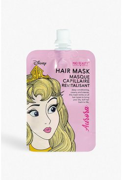 Womens Pink Disney Princess Hair Mask - Aurora