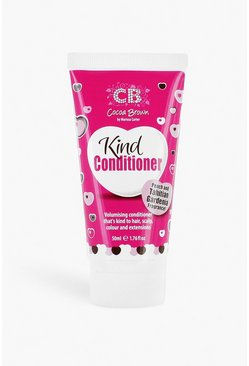 Womens Pink Cocoa Brown Travel Size Kind Conditioner
