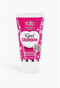 Womens Pink Cocoa Brown Travel Size Kind Shampoo