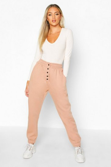 Rose Popper Front Loopback Joggers