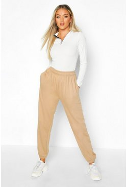 Womens Biscuit Basic Loopback Joggers