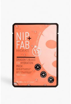 Womens White Nip + Fab Dragons Blood Hydration Face Sheet Mask