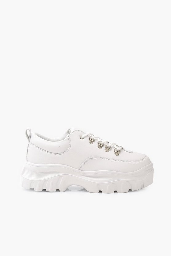 Wide Fit Chunky Trainers