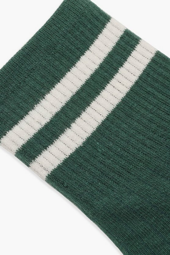 Sports Stripe Ankle Sock