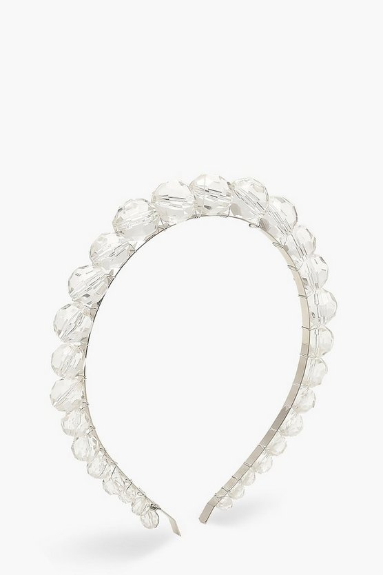 Clear Bead Headband