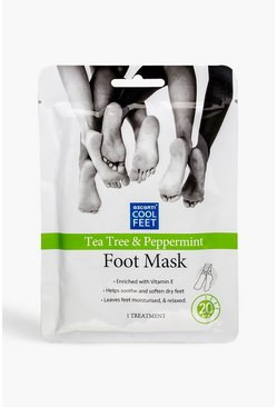 Green Escenti Cool Tea Tree & Peppermint Foot Mask