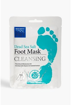 Blue Escenti Cool Feet Dead Sea Salt Foot Mask