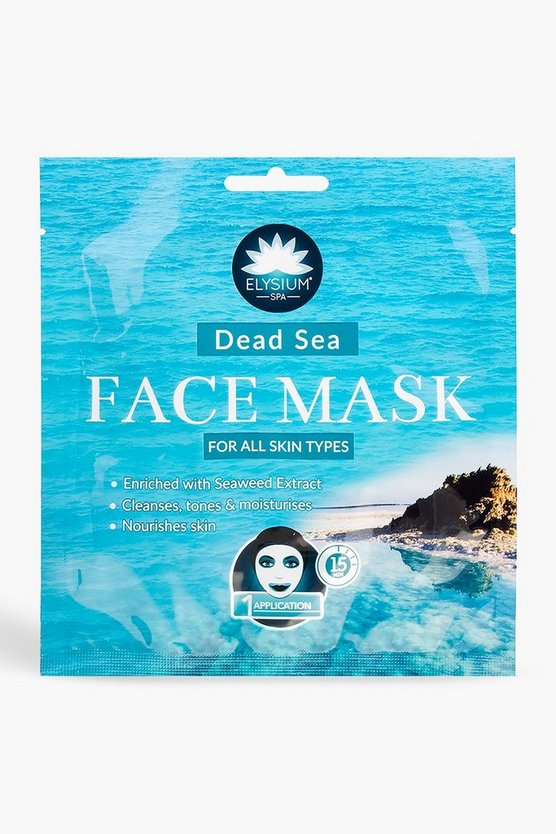 Dead Sea Salt Face Mask