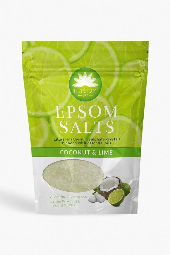 Elysium Spa Bath Salts Coconut & Lime 450g