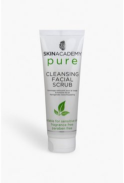 Womens White Skin Academy Pure Cleansing Facial Scrub