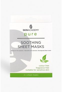 Womens White Skin Academy Pure Soothing Sheet Face Mask