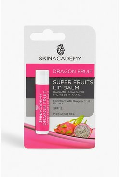Skin Academy Dragon Fruit Lippenbalsam, Transparent