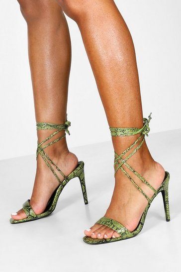 Green Wide Fit Snake Wrap 2 Parts