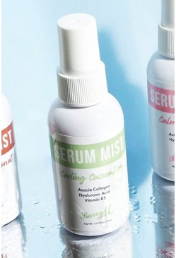 Siero spray Cooling Cucumber Barry M, T-shirt a sezioni verde, Femmina