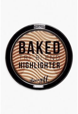 Illuminateur Bronze Baked Barry M, Or, Femme