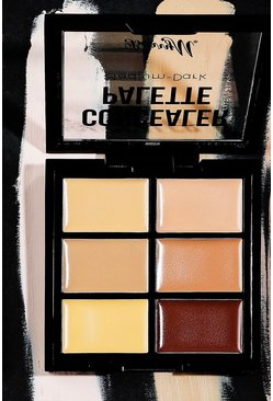 Dam Brown Barry M Concealer Palette Light/Medium