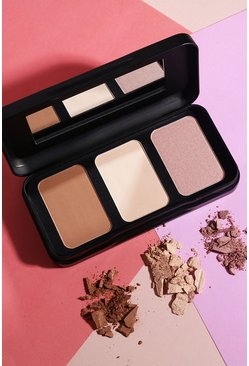 Palette Feeling Cheeky Sculpting Barry M, Marrone, Femmina