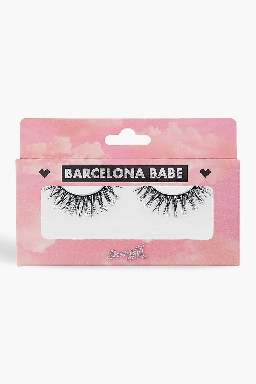 womens barry m false lashes barcelona babe - black - one size