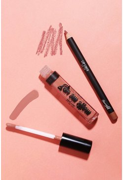 Womens Nude Barry M Matte Lip Kit Go To