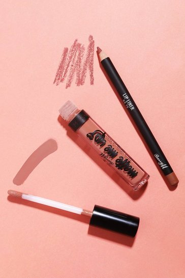 Nude Barry M Matte Lip Kit Go To