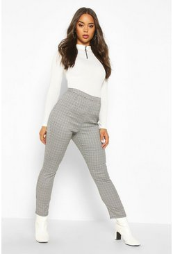 Dam Black Mini Dogtooth Check Slim Fit Woven Trouser