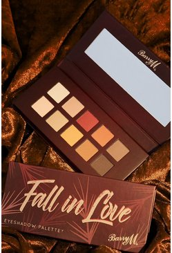 Palettes de fards à paupières Fall In Love Barry M, Marron, Femme