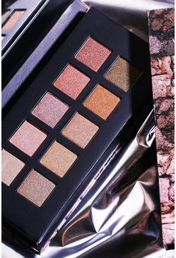 Palette de fards à paupières Delux Metals Barry M, Couleur chair, Femme